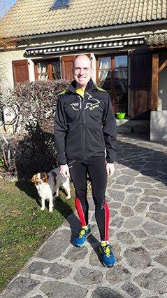 Alexandre, testeur Adidas terrex Agravic