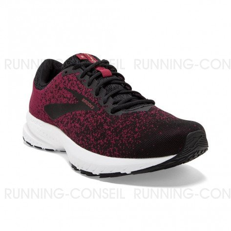 BROOKS LAUNCH 6 Homme   Red / Black / Grey