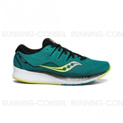SAUCONY RIDE ISO 2 Homme - Teal | Black