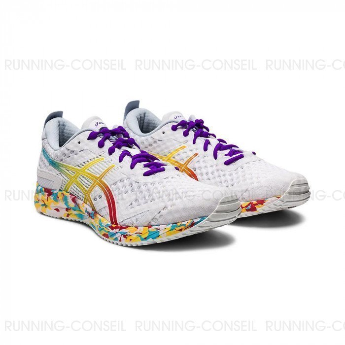 Chaussures ASICS GEL-NOOSA TRI 12 Femme | WHITE/CLASSIC RED