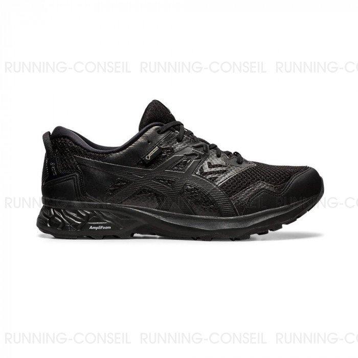 Chaussure asics Gel-Sonoma 2 GTX noire pour femme