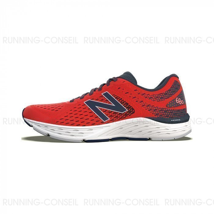 Chaussures NEW BALANCE M680 Mixte RED