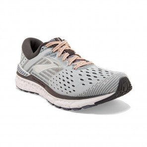 BROOKS TRANSCEND 6 Femme | Grey / Pale Peach / Silver