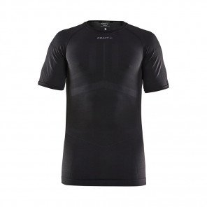 CRAFT Tee-Shirt Manches Courtes Active Intensity Homme | Black / Asphalt