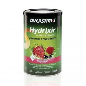 Hydrixir antioxydant sans gluten fruits rouges overstims