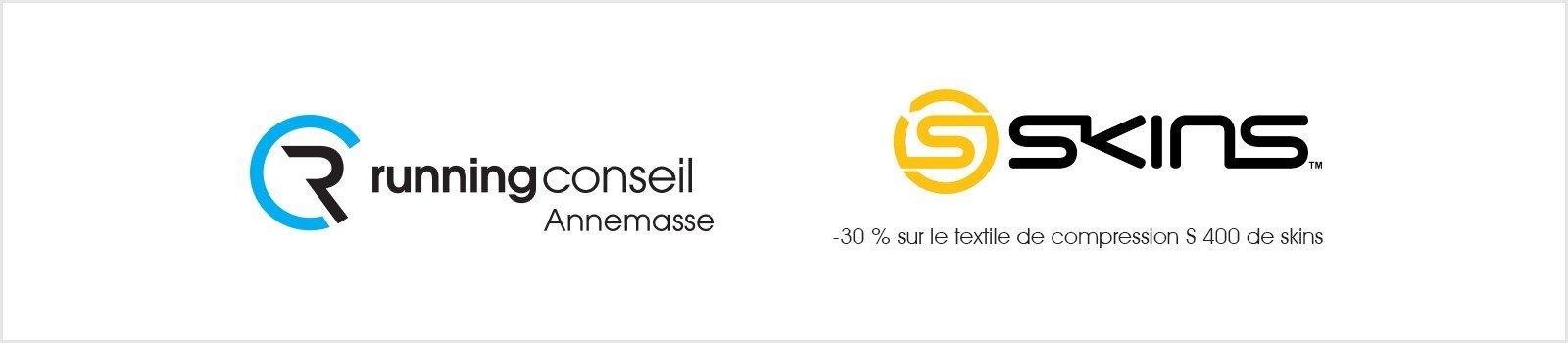 -30 % sur le textile de compression S 400 de skins