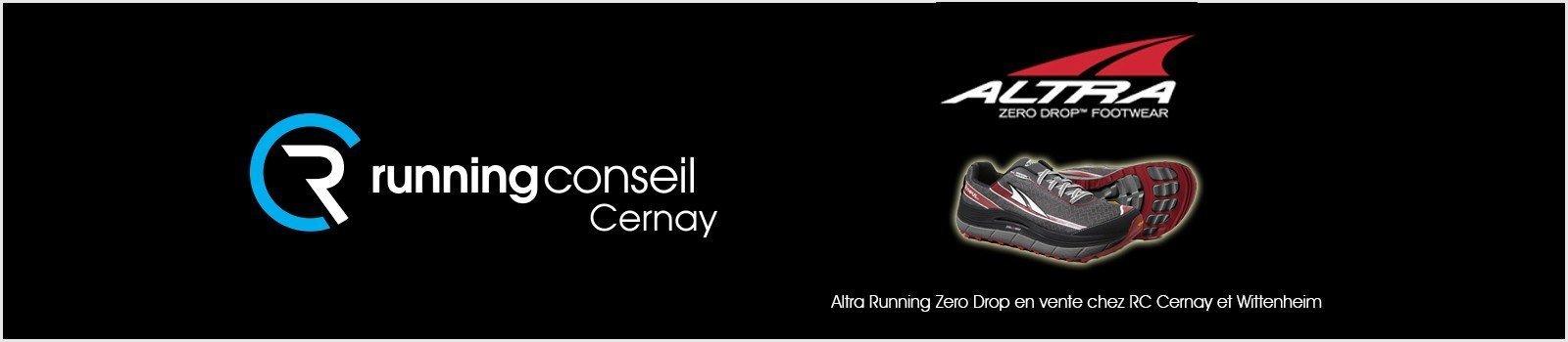 Altra Running Zero Drop en vente chez RC Cernay et Wittenheim