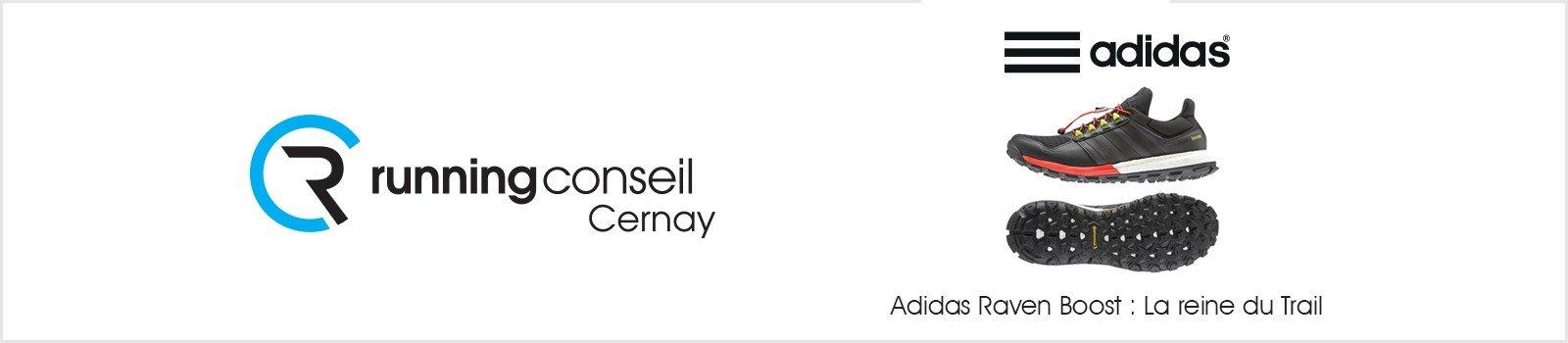 Adidas Raven Boost : La reine du Trail