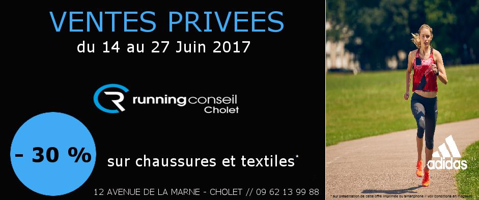 Vente privée Running Conseil Cholet