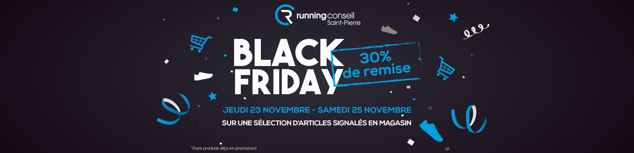 Black Friday Running Conseil Saint-Pierre, La Réunion