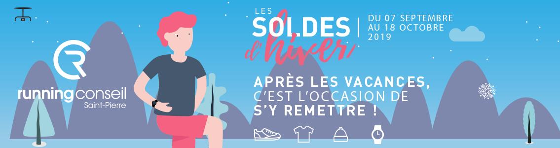 Les soldes Running Conseil Saint Pierre La Réunion